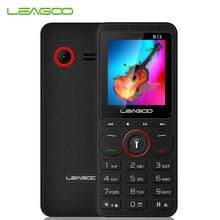 LEAGOO B13 característica teléfono móvil 1,77 32 MB + 32MB Senior niños Mini teléfono ruso teclado 2G GSM pulsador Tecla de botón teléfono celular