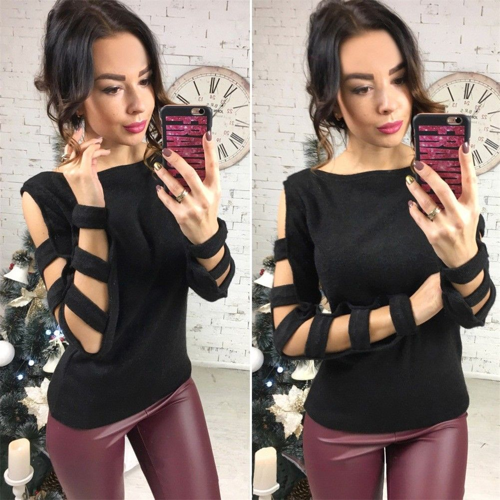 Autumn winter women sweaters and pullovers long sleeve casual crop sweater slim solid knitted jumpers sweter mujer