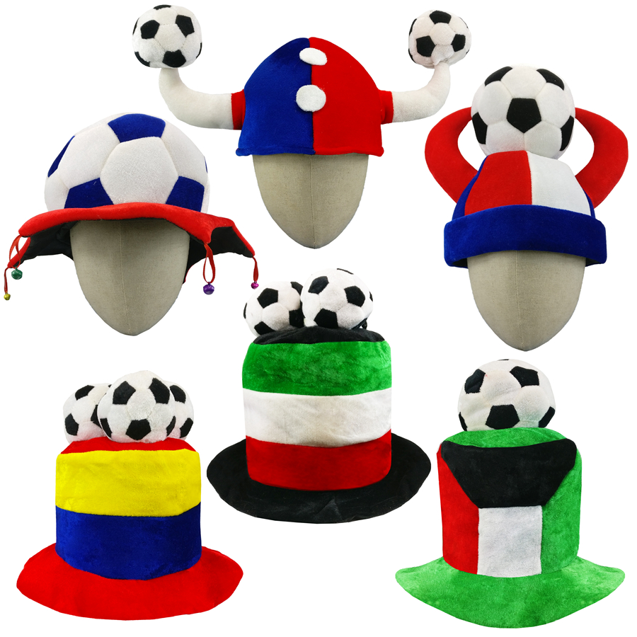 World cup russia 2018 football League Football Soccer Competitions Champions Hat Party Headgear Cap Fans decorations hats