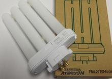 هيتاشي FML27EX N DK 27 W CFL مصباح الفلورسنت المدمجة ، FML 27EX N 5000 K محايد الأبيض مصباح ملون ، 4 دبوس مواز أنبوب ، FML27EXN