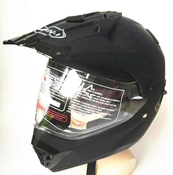 South Korea Double Visors Dot Motorcycle Helmets Moto Atv Dirt Bike