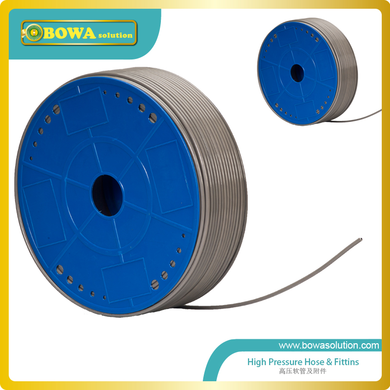 2.5mm ID high pressure Hose is wonderful as connection tube of  pressure controls, pressure gauge, oil differential switches cxa l0612 vjl cxa l0612a vjl vml cxa l0612a vsl high pressure plate inverter