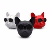 Mini Bulldog Aerobull Nano Sem Fio Bluetooth 4.1 Speaker 3.5mm Jack De Áudio Cartão TF FM Build-in DS Ao Ar Livre portátil Alto-falantes de Graves