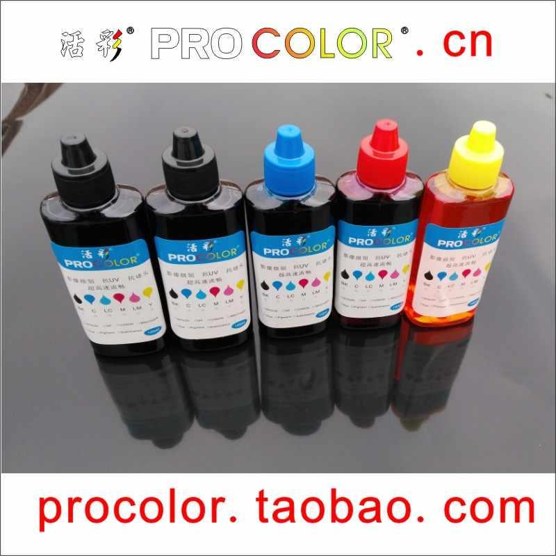 T6641 T6642 T6643 664 BK C M Y CISS Tinta Pewarna Tinta Isi Ulang Kit Untuk Epson L3050 L3060 L3070 l1300 L1400 Inkjet Cartridge Printer