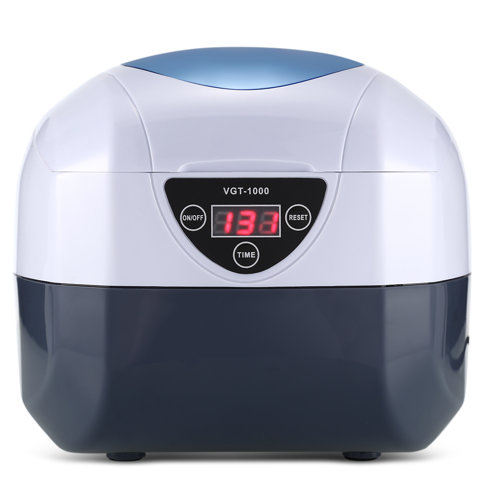 0.75L Digital Ultrasonic Cleaner Bath Manicure Sterilizer Cleaner Sterilizing Nail Jewelry Tool Disinfection Cleaning Machine vgt 1000 0 75l ultrasonic manicure sterilizer cleaner sterilizing nail tools disinfection cleaning machine