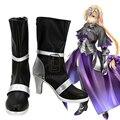 Anime Fate Stay night Apócrifos Gobernante Juana de Arco Zapatos de Halloween Party Cosplay Boots Por Encargo