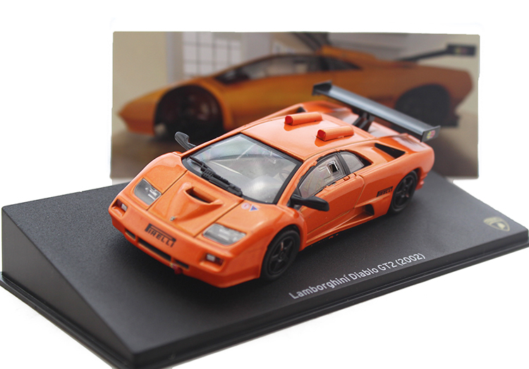 ФОТО Collectibles 1:43 GT2 2002 super sports car model Alloy model collection