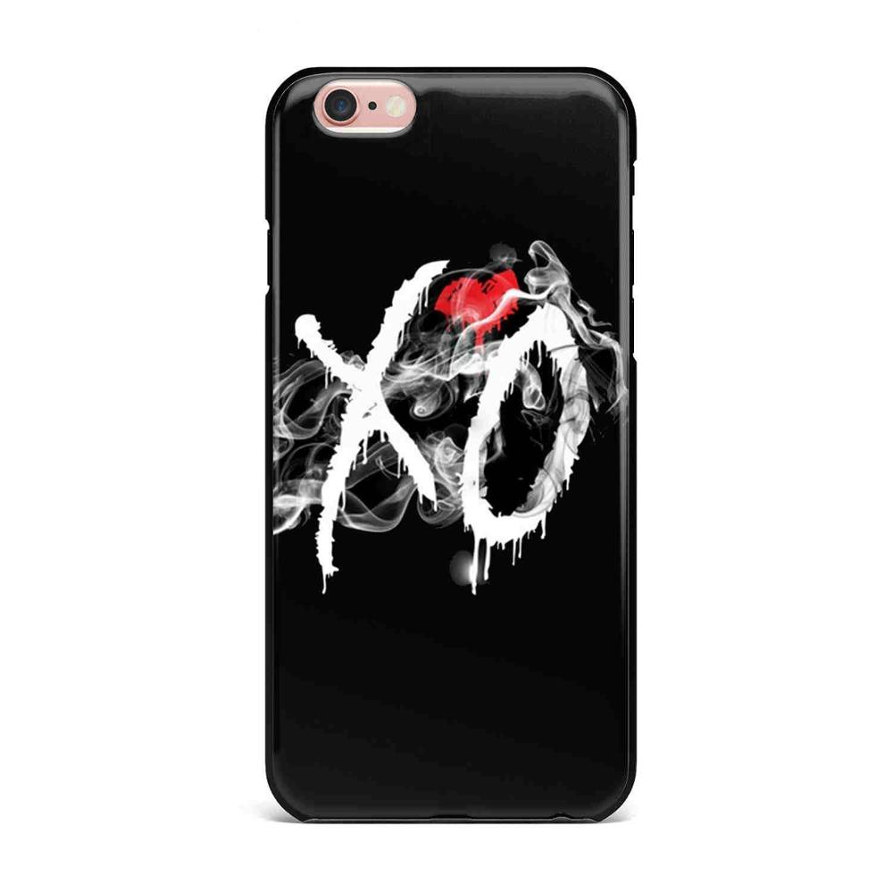 The Weeknd Starboy Pop Singer Coque Phone Case Cover For iPhone X 5 5S SE 6  6S Plus 7 7Plus 8 8 Plus TPU soft silicone Case Capa
