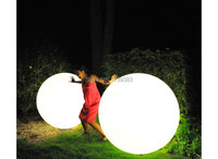 Dia 80cm Led Big Large Ball Light Waterproof Rechargeable Pool Decoration Outdoor Garden Front Courtyard Furniture