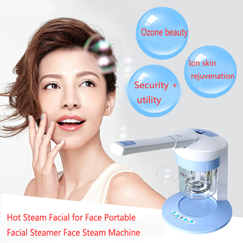 Hot facial steamer Ion Vapour Facial 360 Degree Rotation Steam Facial for Face Portable Facial Steamer Face Steam Machine levett caesar prostate massager for 360 degree rotation g spot