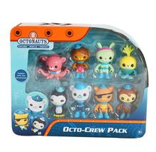 8pcs/set  Original The Octonauts Action Figure Toys Super Lovely Captain Barnacles Medic Peso Figures Model toy for kid