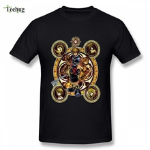 Kingdom Hearts T Shirt  Sora Stained Glass Tee Male New Arrival 3D Print For Boy Short-sleevedO-neck Top Tees