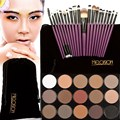 Make Up Set Kit 15 Colors Matte Glitter Eyeshadow Palette+20pcs Makeup Brushes Nude Eye Shadow Cosmetics GUB#