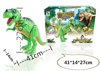 High Quality Electric Emulational Dinosaur Tyrannosaurus Walking Dinosaur with Sounds & LED & Projector Electronic Toys 2 Colors