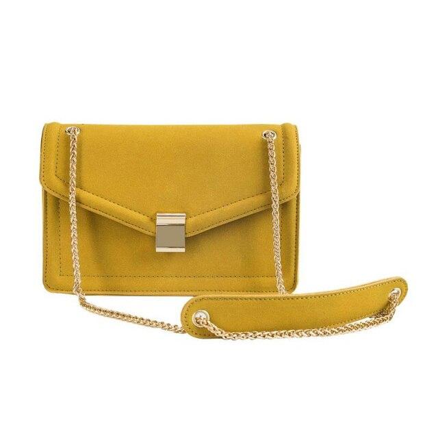 Sacos Crossbody para As Mulheres da moda 2019 De Alta Qualidade Fosco PU Mulheres de Couro Bolsa Bolsa de Ombro Cadeia saco do Mensageiro Sacos bolsa feminina
