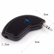 Super Mini Bluetooth Car Bluetooth Receiver Hands-free AUX Output Adapter For Music and Mobile Phone
