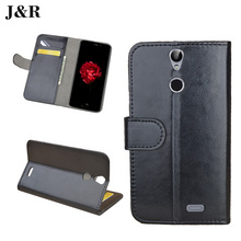 J&R Case For Vernee Thor Leather Flip Phone Cover For Vernee Thor 5.0inch Retro Vintage Wallet Stand Phone Protective Phone Bags