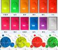 Pigmento fluorescente, polvo fluorescente, pigmento fosforescente ( no glow in the dark ), 1 lote = 12 colors, 10 gramos por color, envío gratis
