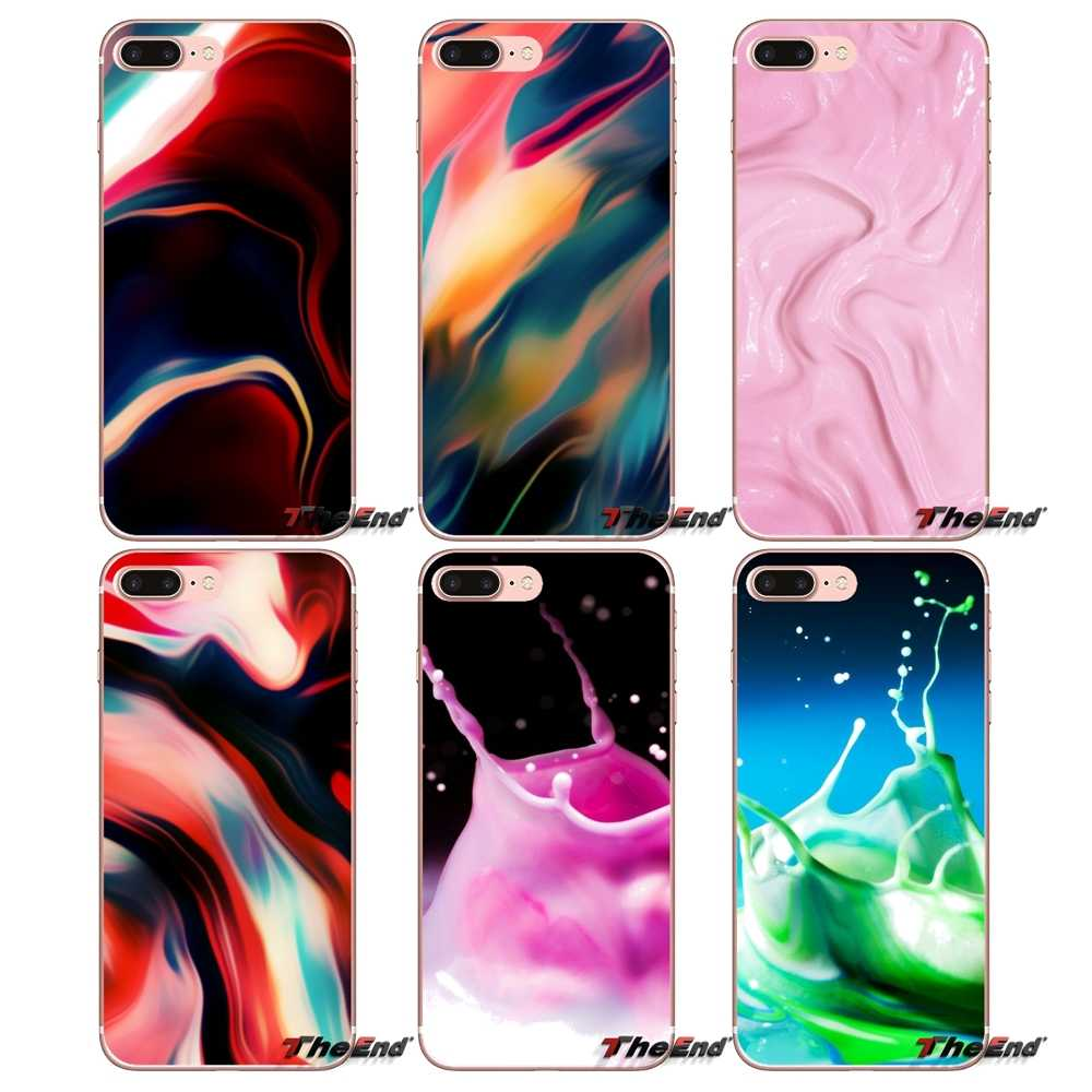 Liquid Wallpapers Mobile Phone Shell Cover For Iphone X 4 4s