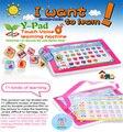 Um Usufull Crianças Toy Pad 11-EM-1 YPad Inglês Aprendizagem de Máquina Computador Tablet laptop brinquedos do bebê Educacional para Crianças de 2 cores