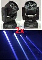 2xLot CREE 60W Led Moving Head Spot Effect Light 4x15W Suprt Beam Wash Mini Lighting DJ