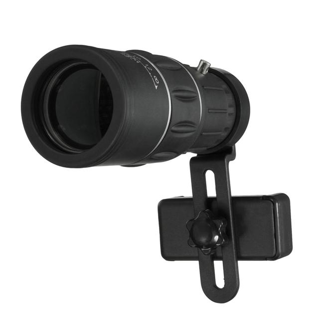 HD Telefone Móvel Óptico Lente de Vidro Óptico de Alta Potência Telescópio Monocular Observação Pesquisa Camping Caminhadas Telescópio Com Suporte