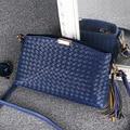 Women Handbags Famous Brands Lady Messenger Bags Clutch Pouch Bolsas Purse Fashion Leather Handbag Ladies Knitting Crossbody