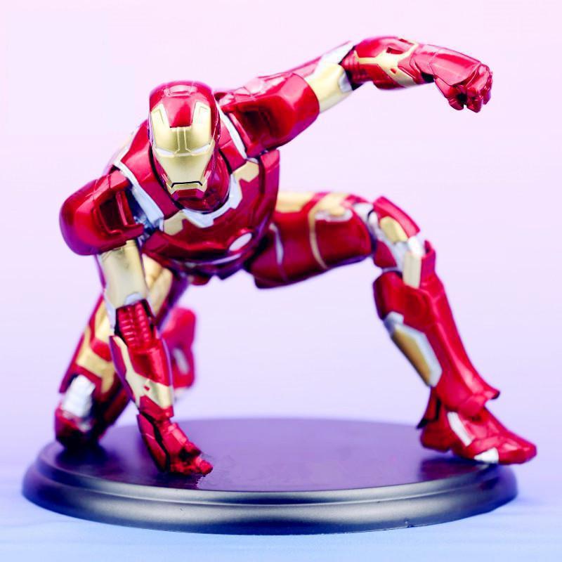 MK43 Marvel Ironman Action Figures Kotobukiya Avengers Iron Man Tony Model Toys 18cm