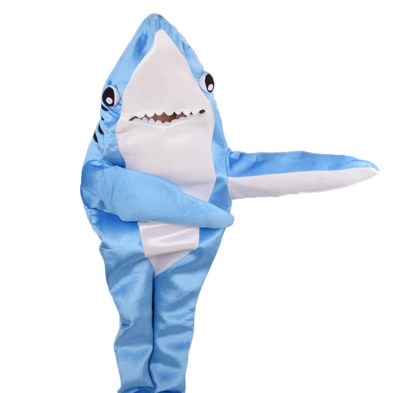 Aliexpress.com : Buy Blue attack adult shark costume animal party ...