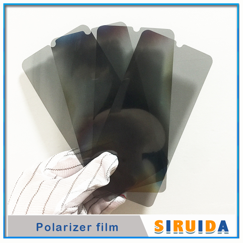 Image 2 - 50pc LCD Polarizer Film For Samsung Galaxy M10 A10 A20 A30 A50 A70 A80 A90 A105 A305 A920 Display Screen Polar Sheet Replacement-in Phone Screen Protectors from Cellphones & Telecommunications