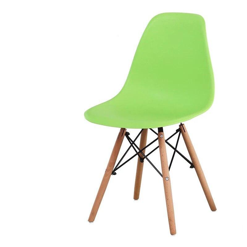 Минималистичный современный стул для отдыха, черный стул для гостиной, домашняя Обеденная Мебель для ресторана, скандинавский диван, спинка, оттоманская - Цвет: F