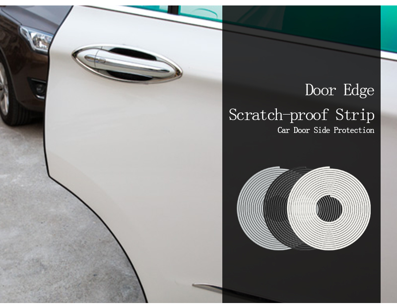 Car Styling Door Protection Strips Rubber Edge Doors Moldings Side Protector Sticker Scratches Vehicle For Cars Auto Car styling-in Styling Mouldings from ... & Car Styling Door Protection Strips Rubber Edge Doors Moldings Side ... pezcame.com