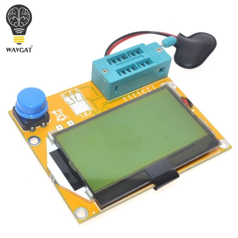 LCR-T3 Transistor Tester Diode Triode Capactitance ESR LCR Meter MOS PNP NPN