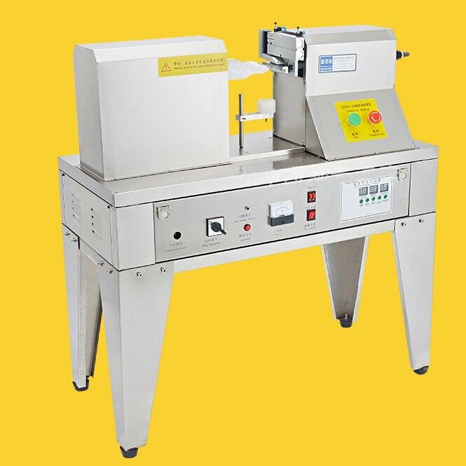Ultrasonic Plastic Hose Sealing Machine 220V 1200W Stainless-Steel Sealing Machine For Cleaning Milk HoseQDFM-125 qdfm 125 1200w ultrasonic wave tube tail sealer hose seals tail machine impulse sealing machine for commodity 1pc