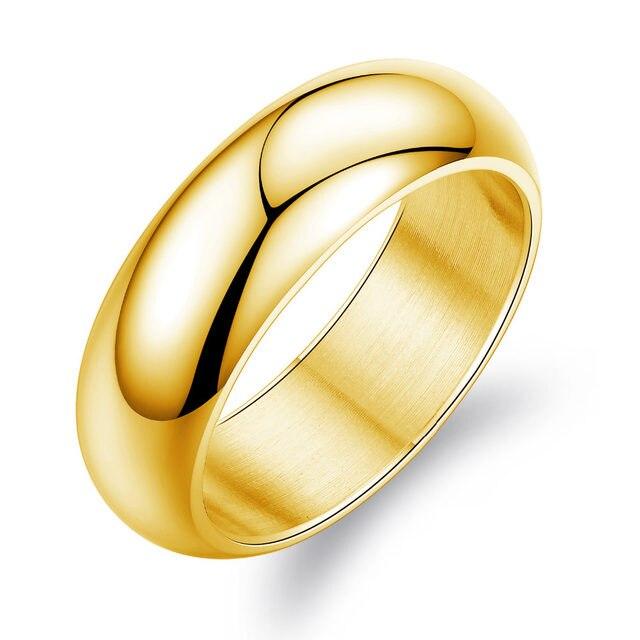 line Shop NEW Fashion 2 Colors Punk Engagement Rings for Men