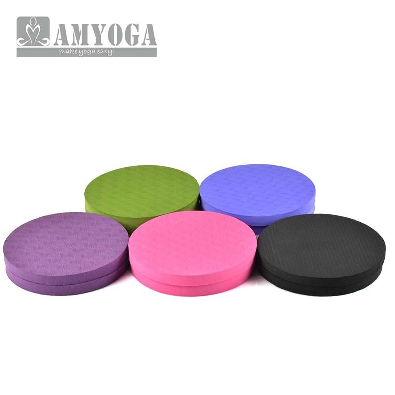 Yoga Workout Knee Pad Cushion Round Workout Foam Pad