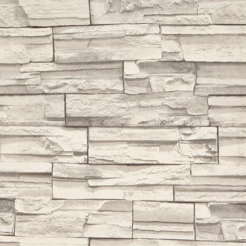 HANMERO Geprägte 3D Mauer Papier Moderne Vintage Ziegel Stein Muster ...