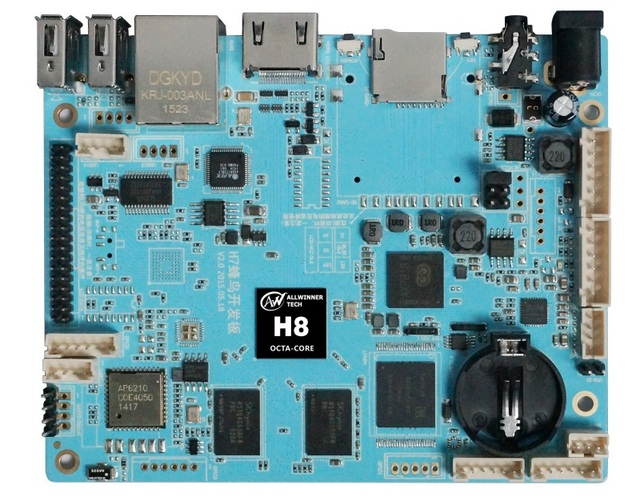 US $95 0 |H7 Hummingbird board based on Allwinner H8 PROCESSOR ,open source  mini PC development board android / Linux embedded-in Mini PC from