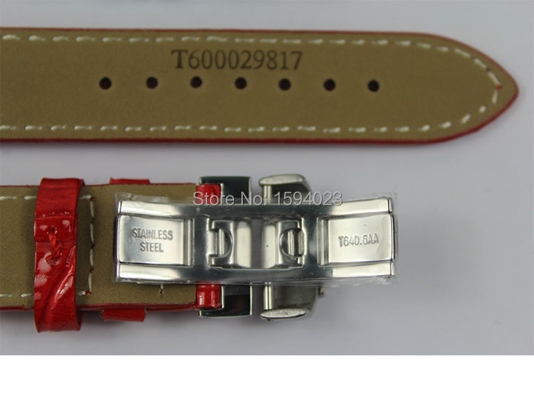 16 mm (hebilla 16 mm) T050217A hebilla de mariposa de plata de alta - Accesorios para relojes - foto 6
