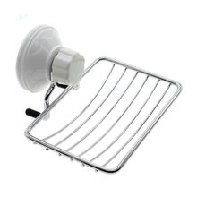1pc fashion strong soap holder suction bathroom shower accessory soap dish holder cup tray