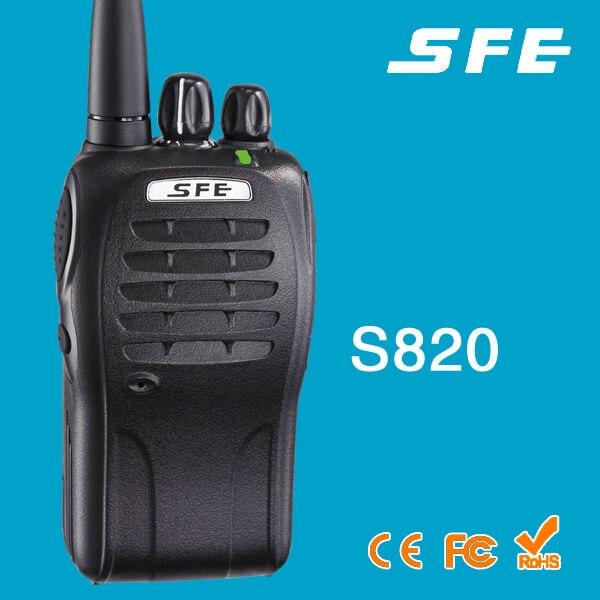100% Original SFE S820 Portable Two Way Radio UHF High Quality Walkie Talkie100% Original SFE S820 Portable Two Way Radio UHF High Quality Walkie Talkie