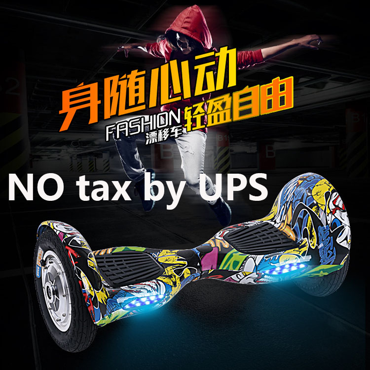 Music Self balancing scooter 10 inch hoverboard 700W battery+Bluetooth+Bag+Remote Skateboard Smart Balance UL2272