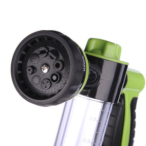 Image 5 - New Car Washing Foam Green Water Gun Car Washer Portable Durable High Pressure For Car Washing Nozzle Spray Free Shipping