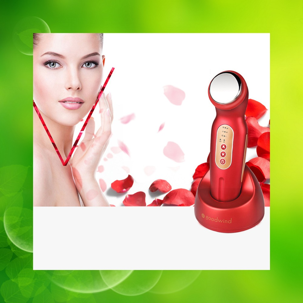 Top Ultrasonic Ion Face Lift Facial Beauty Device Ultrasound Skin Care Face Lifting Massager Device improve skin Care Hot dhl ems 5 sets new for om ron proximity switch e2a m18ks08 wp c1