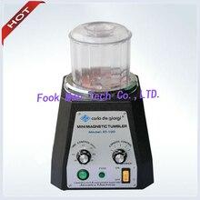 цена на Hot sale!!! Promotion!!! kt100 Jewelry Magnetic polisher, mini magnetic tumbler, jewelry polisher, magnetic polishing machine