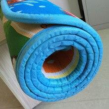 1 см, 0,5 см, толстый детский игровой коврик для ползания, Обучающий игровой коврик с алфавитом для детей, коврик для занятий в спортзале, коврик из пены Eva, детская игрушка
