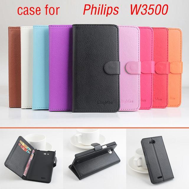 Phone case for Philips W3500 About Flip Cover Mobile Phone Bags.Lingmao Brand Hot Sale Factory price.