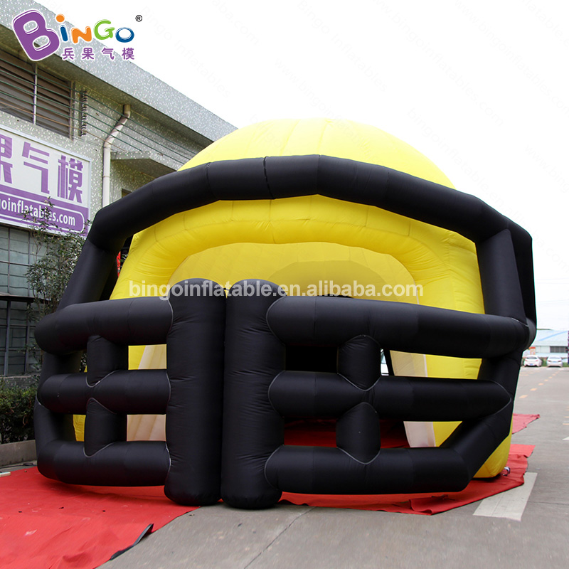 2019 HOT SALES 11x5x4.5mh inflatable yellow black helmet giant balloon customized advertising decoration entrance for sales item2019 HOT SALES 11x5x4.5mh inflatable yellow black helmet giant balloon customized advertising decoration entrance for sales item