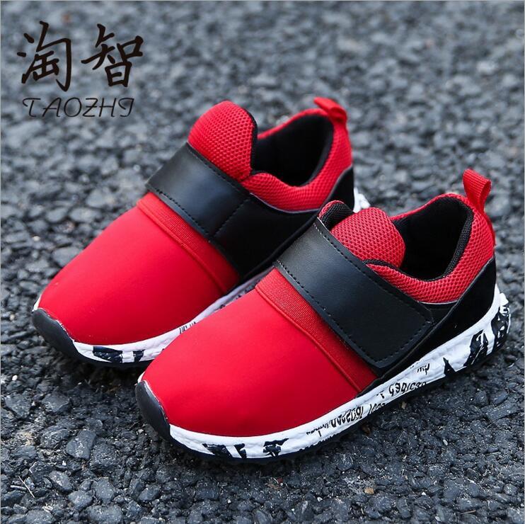 2017 merk kids sportschoenen kind casual schoenen vrouwelijke jongens - Kinderschoenen - Foto 1