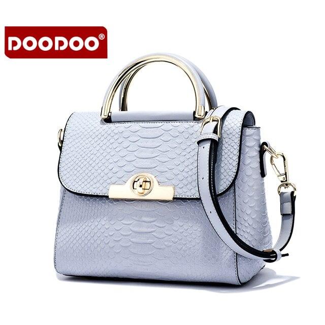 2b6c84c26a5708 Doodoo frauen top pu-leder handtaschen patent berühmte marken designer- handtaschen hoher qualität beutel